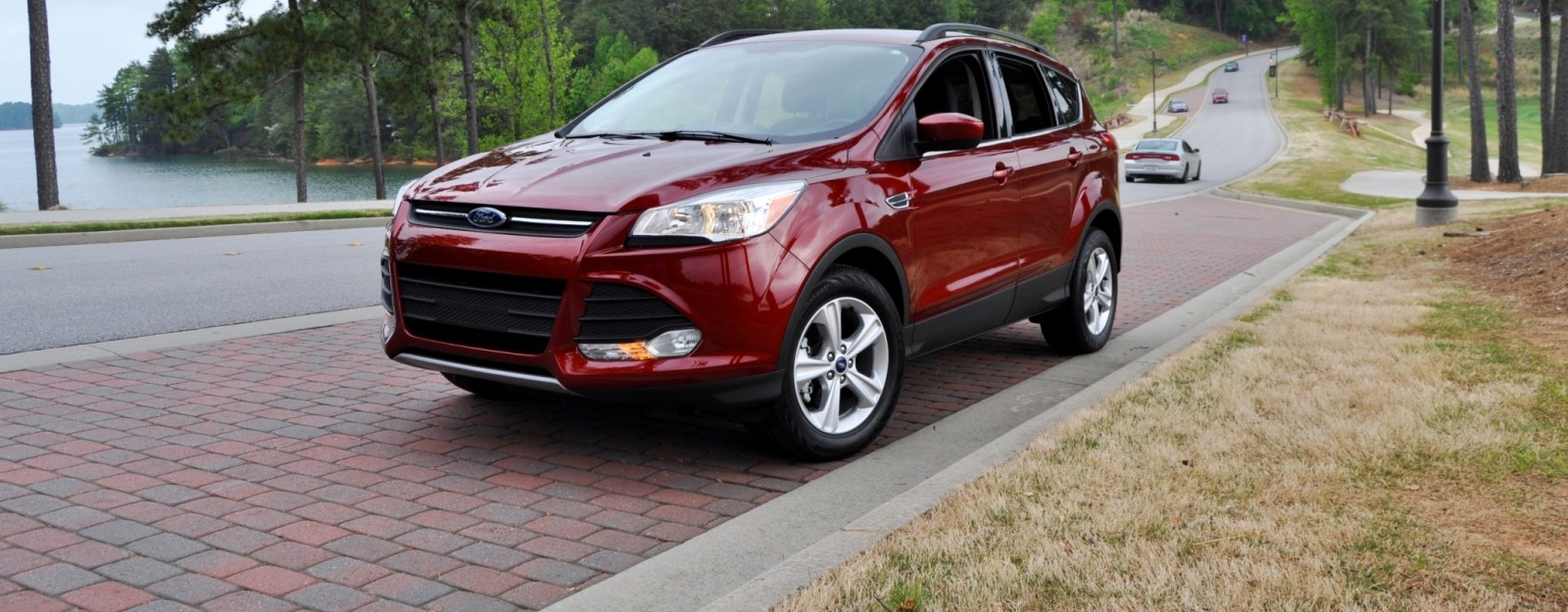 Home road test review 2014 ford escape se 1 6 ecoboost scores a c overall slow pricey and uncomfortable car revs daily com road tests 2014 ford