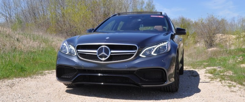 Car-Revs-Daily.com Road Tests the 2014 Mercedes-Benz E63 AMG S-Model Estate 1