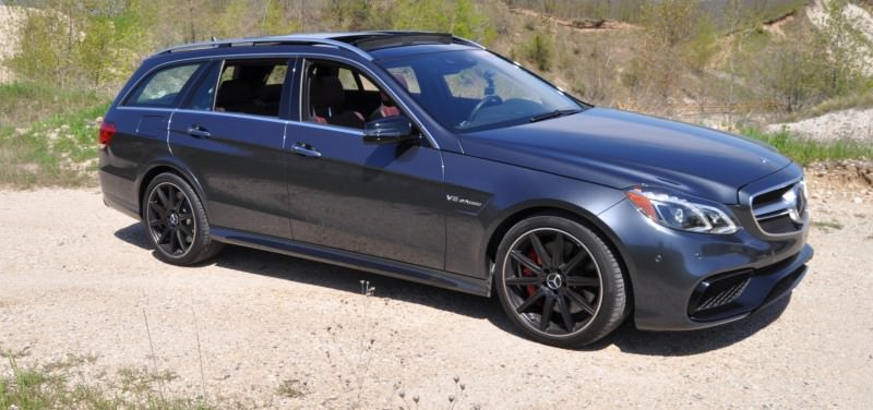 Car-Revs-Daily.com Road Tests the 2014 Mercedes-Benz E63 AMG S-Model Estate 11