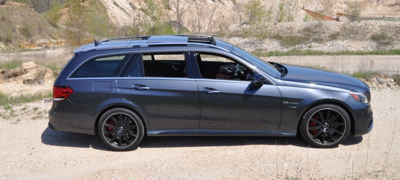 Car-Revs-Daily.com Road Tests the 2014 Mercedes-Benz E63 AMG S-Model Estate 14