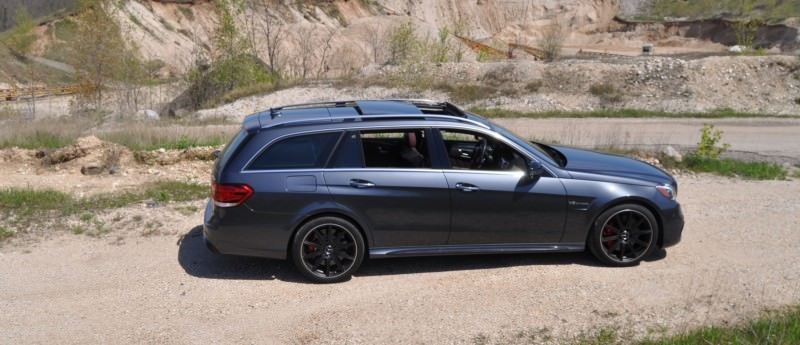 Car-Revs-Daily.com Road Tests the 2014 Mercedes-Benz E63 AMG S-Model Estate 16