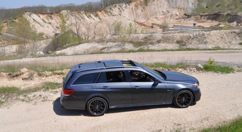Car-Revs-Daily.com Road Tests the 2014 Mercedes-Benz E63 AMG S-Model Estate 17