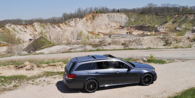 Car-Revs-Daily.com Road Tests the 2014 Mercedes-Benz E63 AMG S-Model Estate 18
