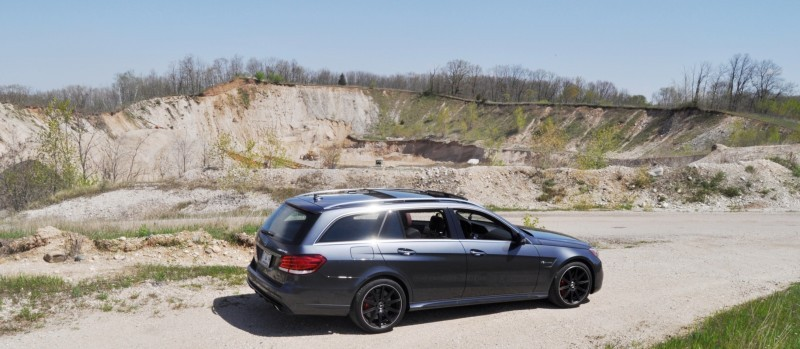 Car-Revs-Daily.com Road Tests the 2014 Mercedes-Benz E63 AMG S-Model Estate 19
