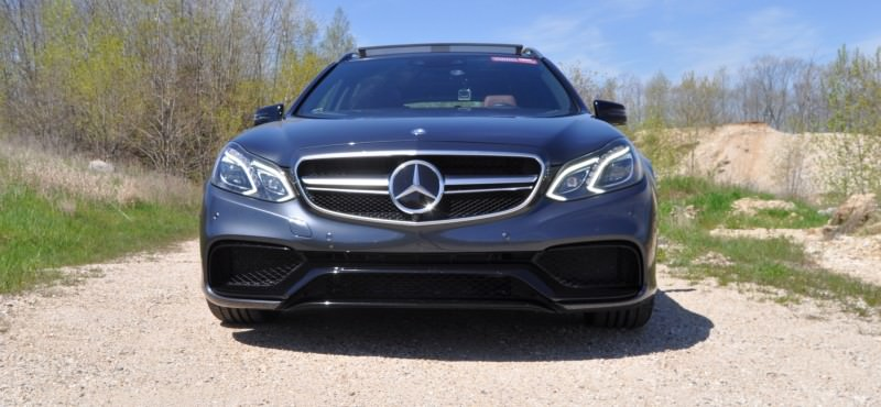 Car-Revs-Daily.com Road Tests the 2014 Mercedes-Benz E63 AMG S-Model Estate 2