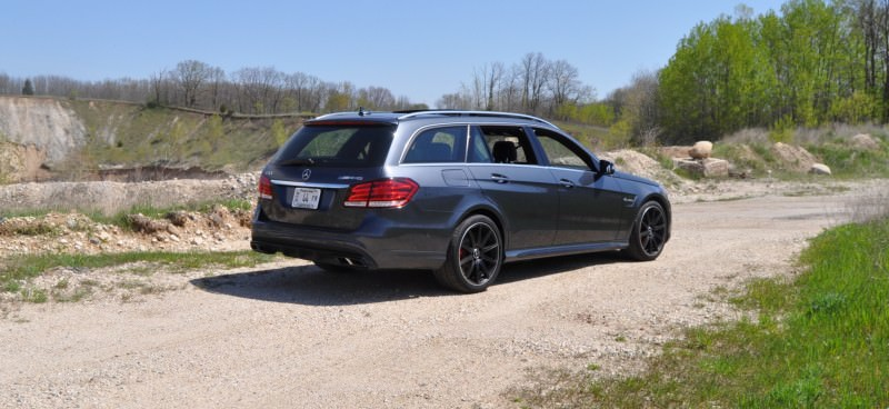 Car-Revs-Daily.com Road Tests the 2014 Mercedes-Benz E63 AMG S-Model Estate 21