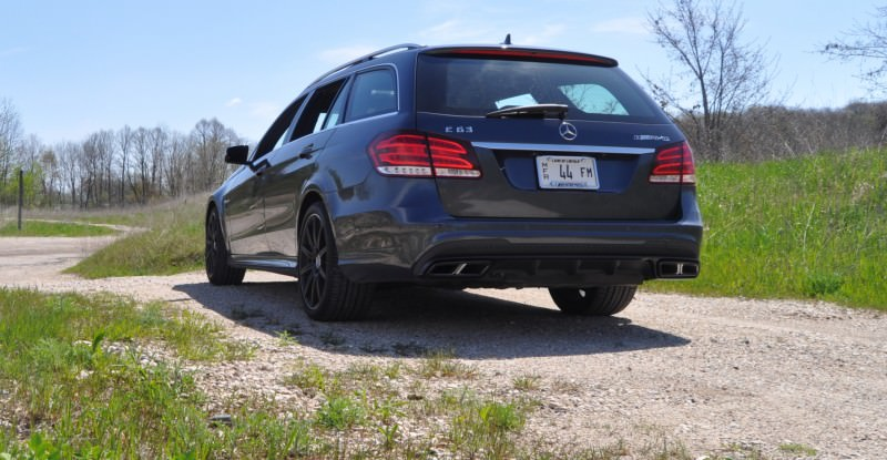Car-Revs-Daily.com Road Tests the 2014 Mercedes-Benz E63 AMG S-Model Estate 26