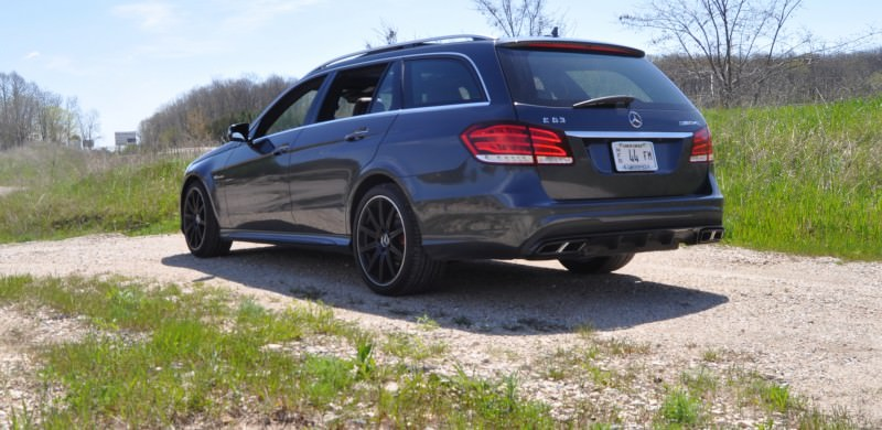 Car-Revs-Daily.com Road Tests the 2014 Mercedes-Benz E63 AMG S-Model Estate 27
