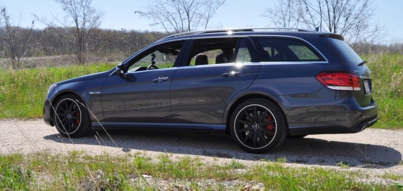 Car-Revs-Daily.com Road Tests the 2014 Mercedes-Benz E63 AMG S-Model Estate 29