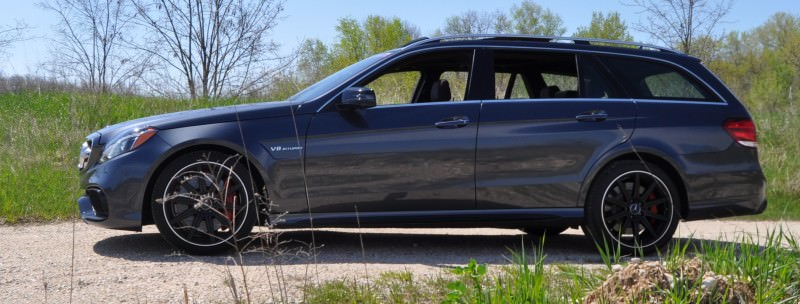 Car-Revs-Daily.com Road Tests the 2014 Mercedes-Benz E63 AMG S-Model Estate 31