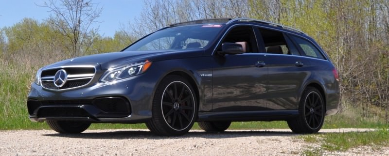 Car-Revs-Daily.com Road Tests the 2014 Mercedes-Benz E63 AMG S-Model Estate 34