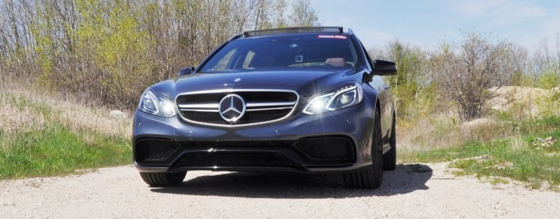 Car-Revs-Daily.com Road Tests the 2014 Mercedes-Benz E63 AMG S-Model Estate 39