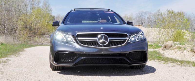 Car-Revs-Daily.com Road Tests the 2014 Mercedes-Benz E63 AMG S-Model Estate 4