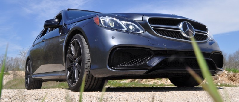 Car-Revs-Daily.com Road Tests the 2014 Mercedes-Benz E63 AMG S-Model Estate 43