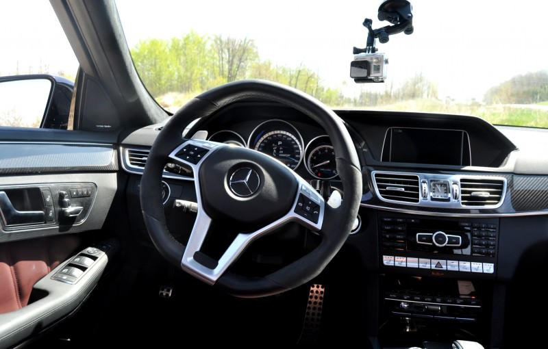 Car-Revs-Daily.com Road Tests the 2014 Mercedes-Benz E63 AMG S-Model Estate 54