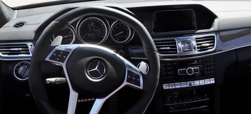 Car-Revs-Daily.com Road Tests the 2014 Mercedes-Benz E63 AMG S-Model Estate 55