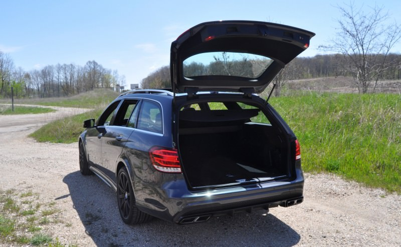 Car-Revs-Daily.com Road Tests the 2014 Mercedes-Benz E63 AMG S-Model Estate 61