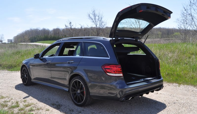 Car-Revs-Daily.com Road Tests the 2014 Mercedes-Benz E63 AMG S-Model Estate 62