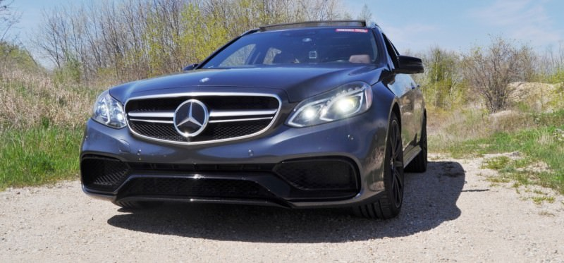 Car-Revs-Daily.com Road Tests the 2014 Mercedes-Benz E63 AMG S-Model Estate 7