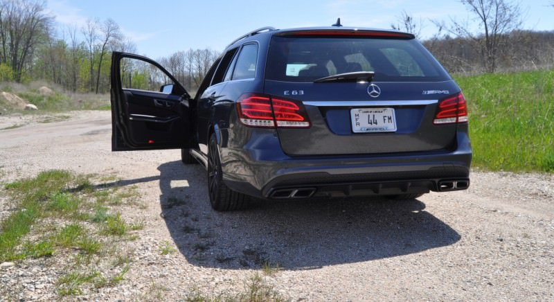 Car-Revs-Daily.com Road Tests the 2014 Mercedes-Benz E63 AMG S-Model Estate 71