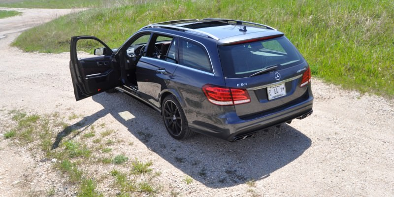 Car-Revs-Daily.com Road Tests the 2014 Mercedes-Benz E63 AMG S-Model Estate 73