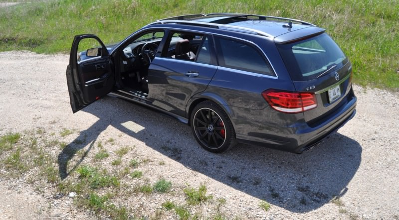 Car-Revs-Daily.com Road Tests the 2014 Mercedes-Benz E63 AMG S-Model Estate 74