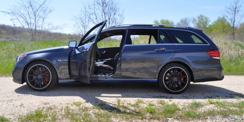 Car-Revs-Daily.com Road Tests the 2014 Mercedes-Benz E63 AMG S-Model Estate 75