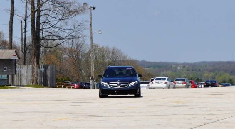 Car-Revs-Daily.com Road Tests the 2014 Mercedes-Benz E63 AMG S-Model Estate 77