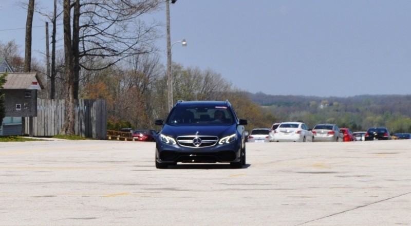 Car-Revs-Daily.com Road Tests the 2014 Mercedes-Benz E63 AMG S-Model Estate 78