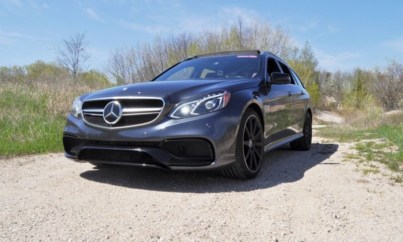 Car-Revs-Daily.com Road Tests the 2014 Mercedes-Benz E63 AMG S-Model Estate 8