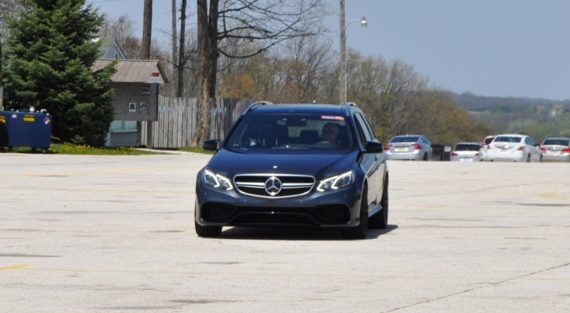 Car-Revs-Daily.com Road Tests the 2014 Mercedes-Benz E63 AMG S-Model Estate 80