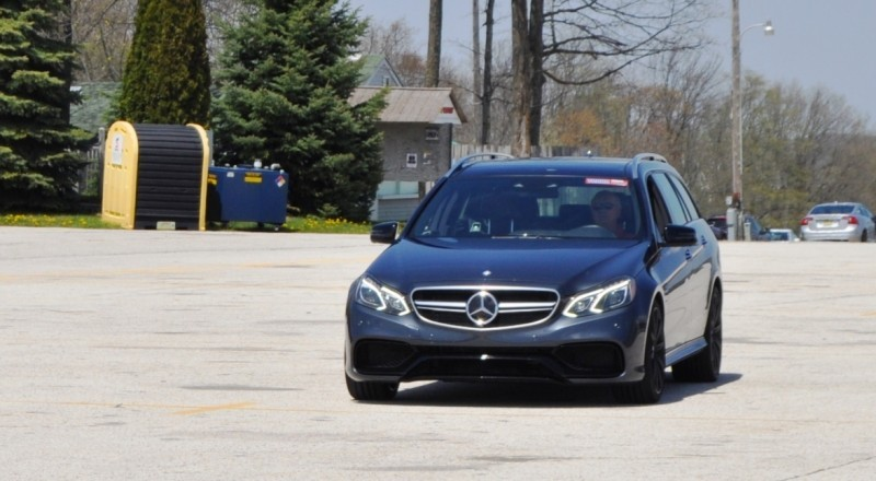 Car-Revs-Daily.com Road Tests the 2014 Mercedes-Benz E63 AMG S-Model Estate 82