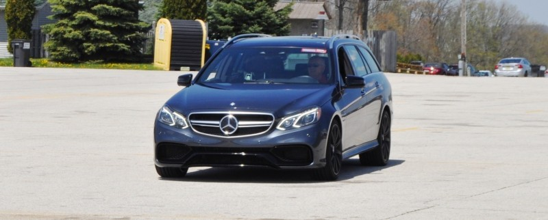 Car-Revs-Daily.com Road Tests the 2014 Mercedes-Benz E63 AMG S-Model Estate 83