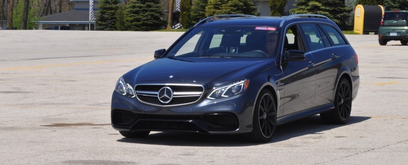 Car-Revs-Daily.com Road Tests the 2014 Mercedes-Benz E63 AMG S-Model Estate 84