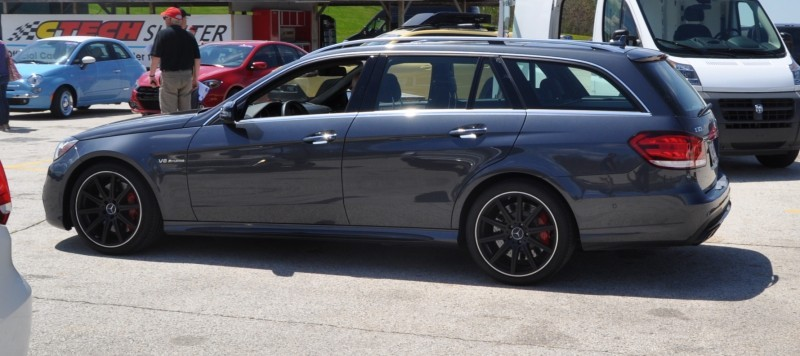 Car-Revs-Daily.com Road Tests the 2014 Mercedes-Benz E63 AMG S-Model Estate 87