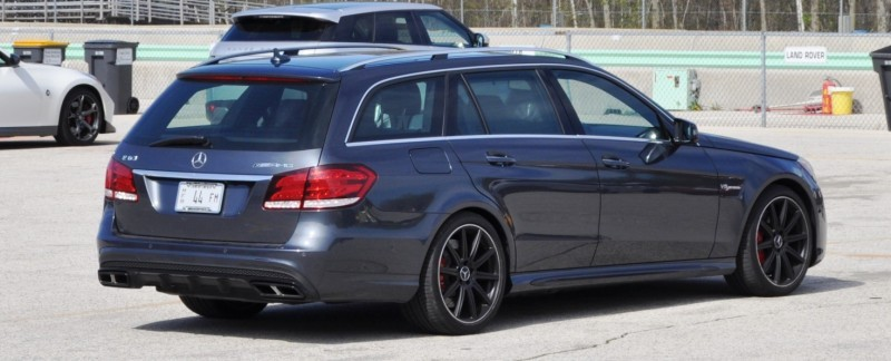 Car-Revs-Daily.com Road Tests the 2014 Mercedes-Benz E63 AMG S-Model Estate 97