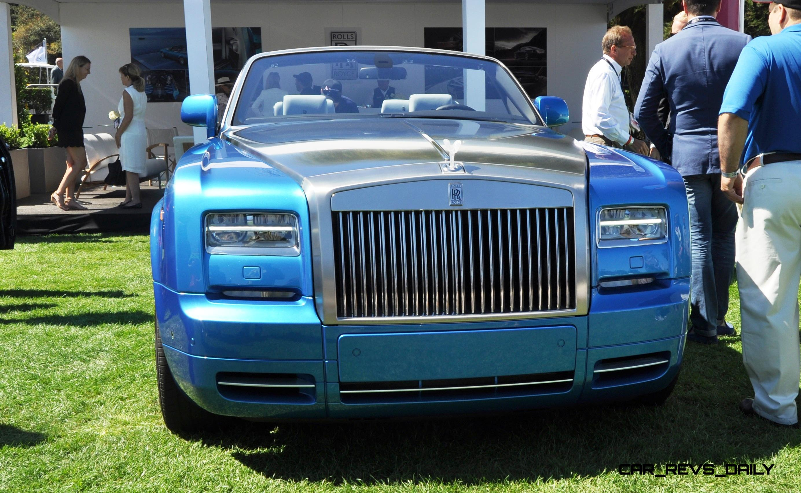 USA Debut of Rolls Royce Phantom Drophead Coupe Waterspeed Collection