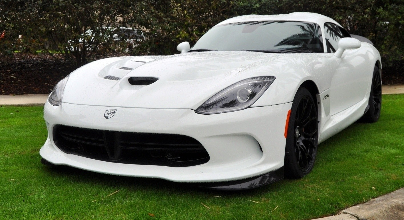 2014 SRT Viper TA in 25 All-New, Real-Life Photos with Carbon Aero Styling Options 2