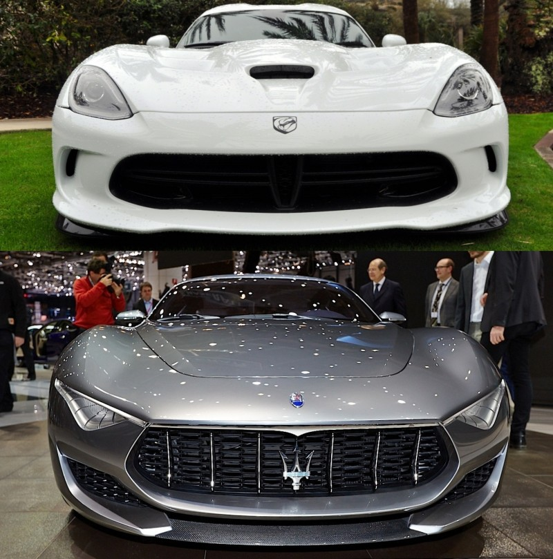 Car-Revs-Daily.com SRT Viper and Maserati Alfieri Concept - Friends or Family 25