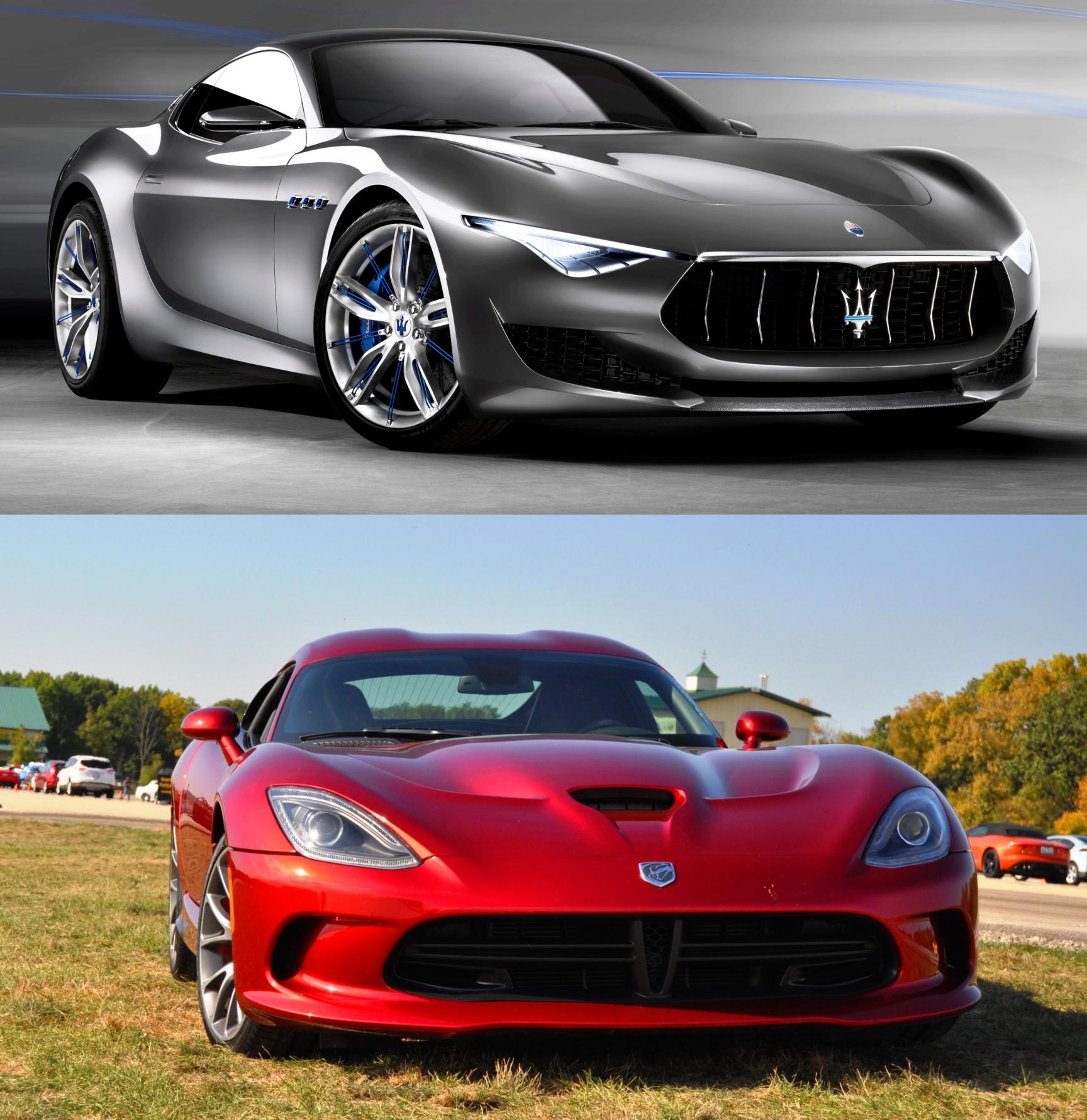 SRT Viper Vs. Maserati Alfieri