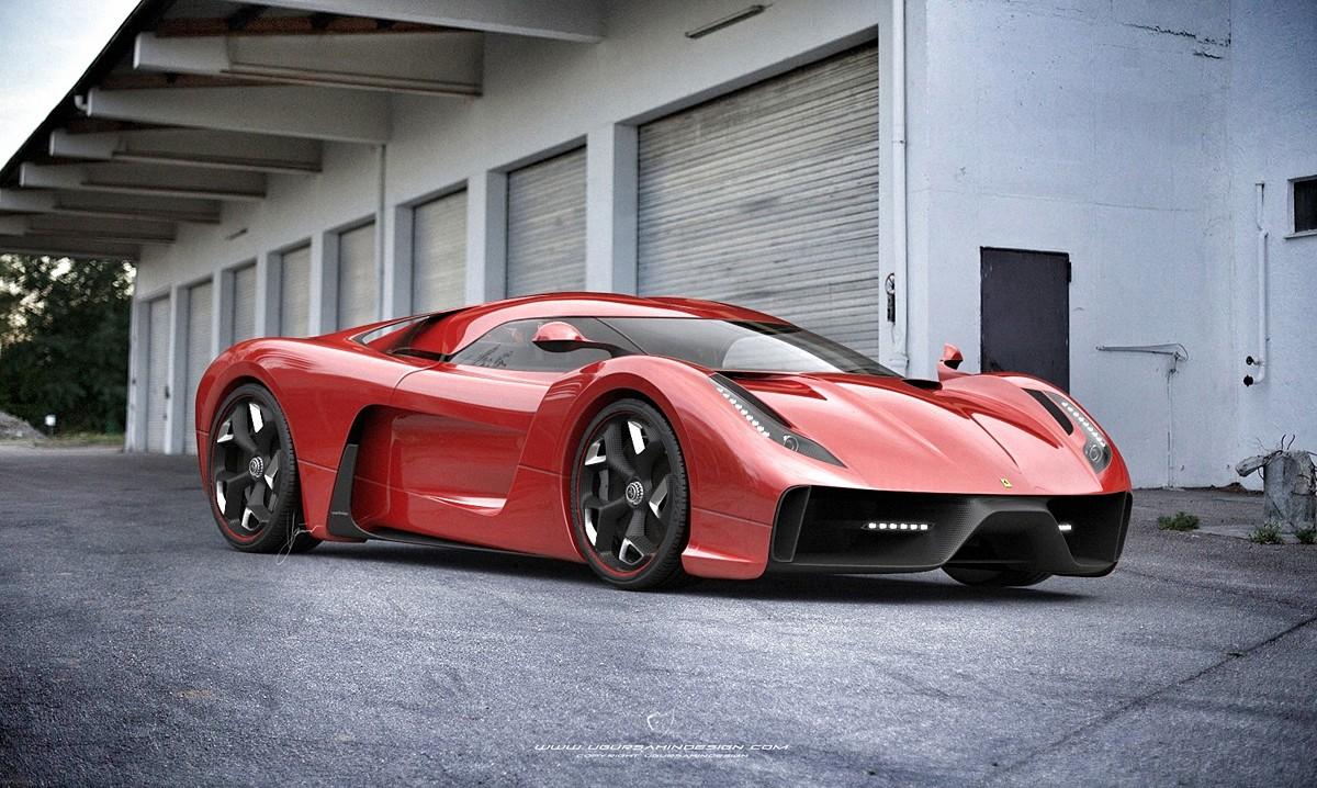 Ugur Sahin Designs A Ferrari Badged Concept F Hypercar