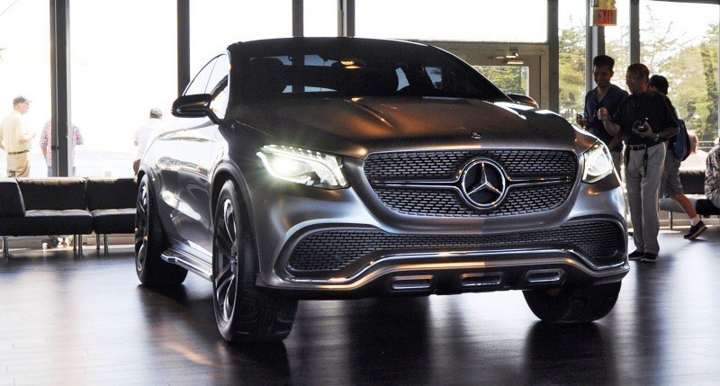Car-Revs-Daily.com USA Debut in 80 New Photos - 2014 Mercedes-Benz Concept Coupé SUV 1