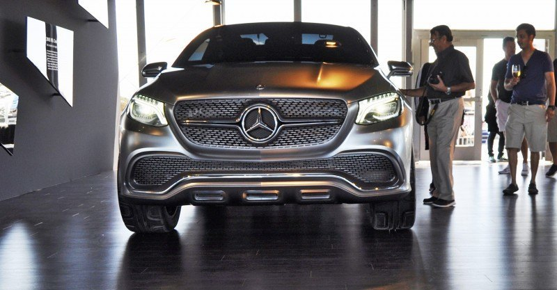 Car-Revs-Daily.com USA Debut in 80 New Photos - 2014 Mercedes-Benz Concept Coupé SUV 10