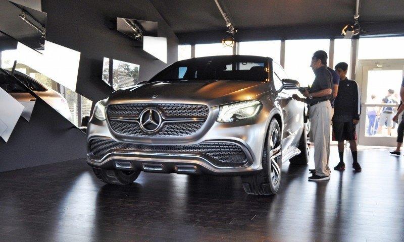 Car-Revs-Daily.com USA Debut in 80 New Photos - 2014 Mercedes-Benz Concept Coupé SUV  11