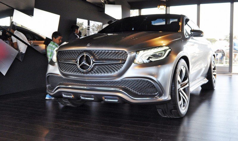 Car-Revs-Daily.com USA Debut in 80 New Photos - 2014 Mercedes-Benz Concept Coupé SUV 12