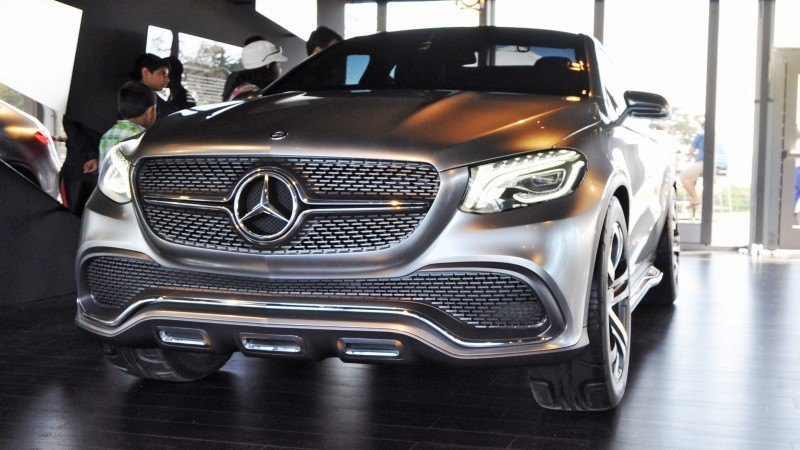 Car-Revs-Daily.com USA Debut in 80 New Photos - 2014 Mercedes-Benz Concept Coupé SUV 13