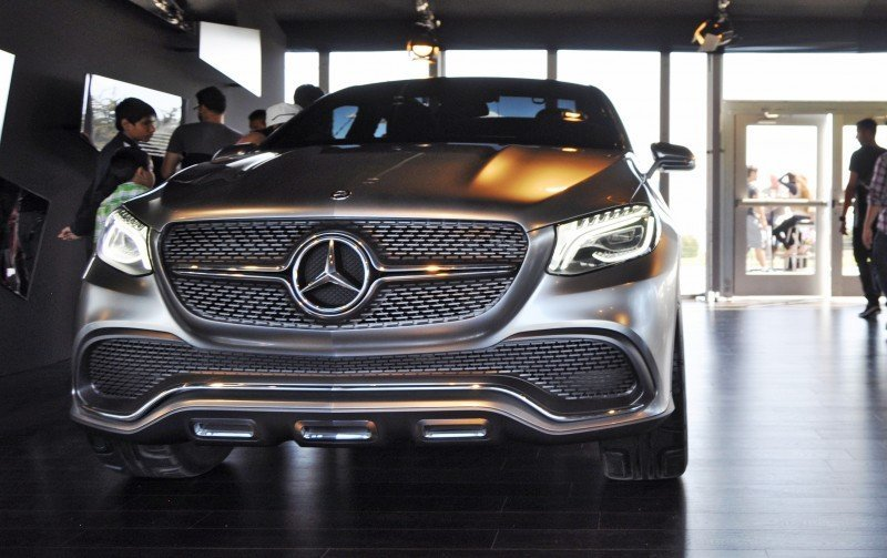Car-Revs-Daily.com USA Debut in 80 New Photos - 2014 Mercedes-Benz Concept Coupé SUV 15