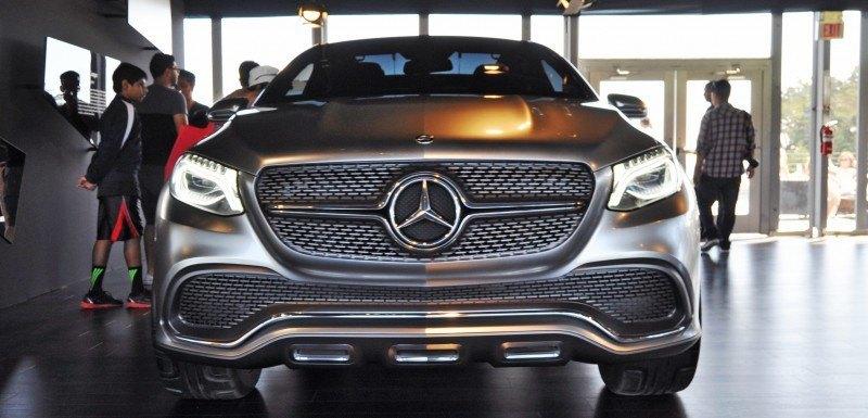 Car-Revs-Daily.com USA Debut in 80 New Photos - 2014 Mercedes-Benz Concept Coupé SUV 17