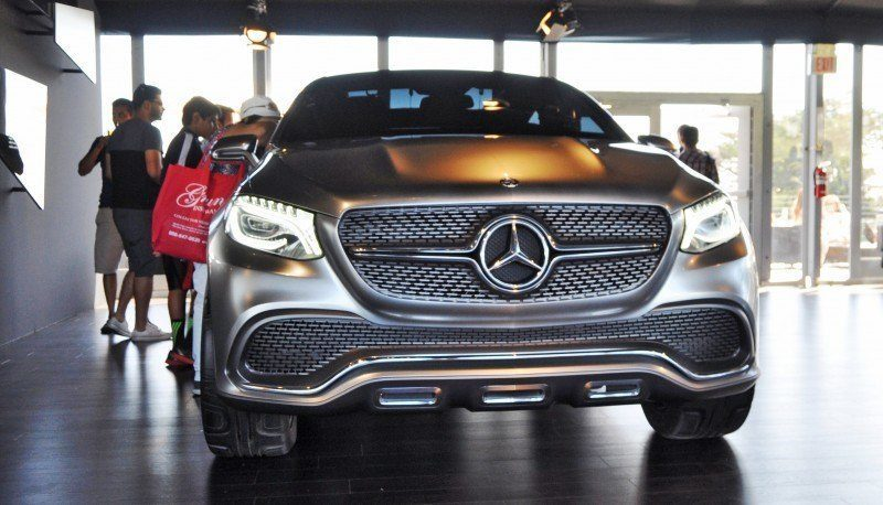 Car-Revs-Daily.com USA Debut in 80 New Photos - 2014 Mercedes-Benz Concept Coupé SUV 18