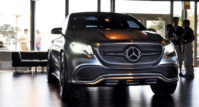 Car-Revs-Daily.com USA Debut in 80 New Photos - 2014 Mercedes-Benz Concept Coupé SUV 2